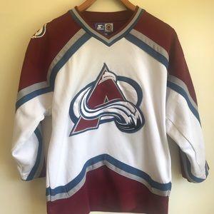 NHL Starter Colorado Avalanche hockey jersey S